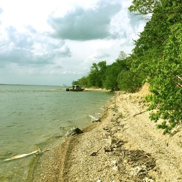 Depth of Cover Analyses for 11 River / Lake Sites – U.S. Midwest